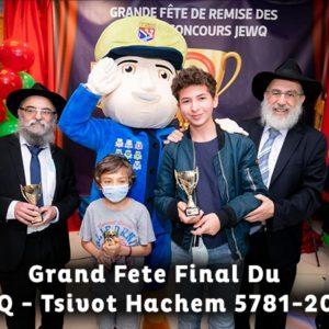 Conclusion du programme «cKids jewQ» 5781 – par Tsivot Hachem